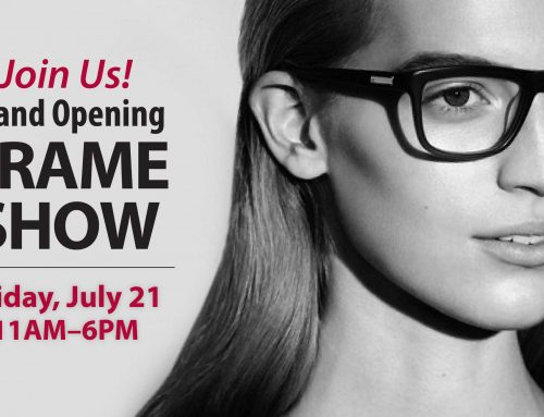 Grand Opening Frame Show at EyeCare Optical in Fountain City!